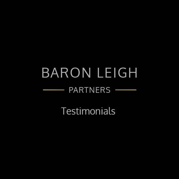 Baron Leigh testimonial placeholder